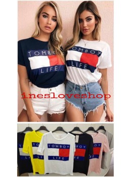 Camiseta Tomboy Life